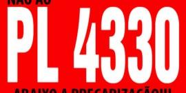 Aprovação do PL 4330 é retrocesso para os trabalhadores