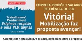 Datamec – Vitória! Mobilização faz proposta de PPLR avançar