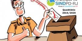 Eleição Sindpd-RJ – Comissão eleitoral homologa duas chapas ao pleito