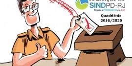 Eleição Sindpd-RJ – Duas chapas são inscritas para a eleição da nova diretoria do Sindpd-RJ